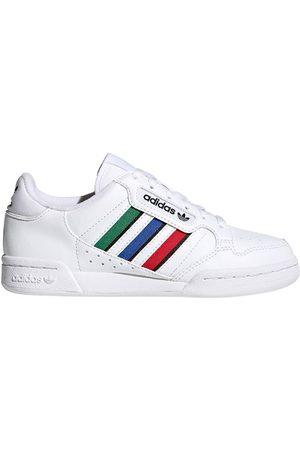 adidas Sko - Sko - Continental 80 Stripes J - Cloud White/Bl