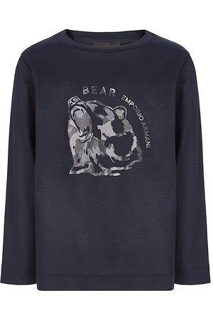 Emporio Armani Kortærmede - T-shirt - Navy