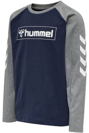 Hummel Bluser - Bluse - hmlBOX - Navy/Grå