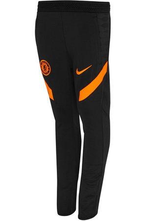 Nike Mænd Slim bukser - Chelsea Træningsbukser Dri-FIT Strike - /Orange Børn