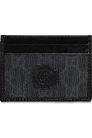 Gucci Mænd Punge - Gg Supreme Canvas Card Holder