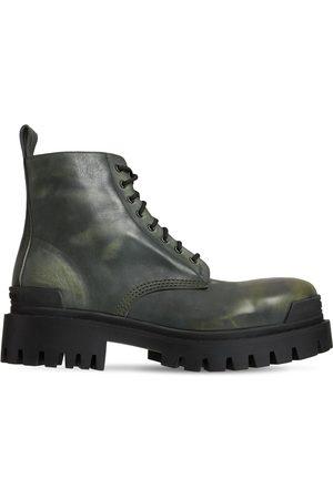 Balenciaga 20mm Strike Leather Boots