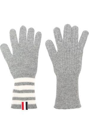 Thom Browne Mænd Handsker - 4-Bar-handsker i kashmir