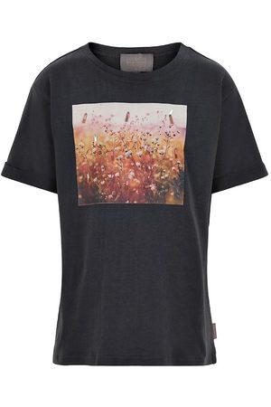 Creamie Kortærmede - T-shirt - Photoprint - Asphalt
