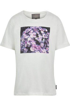 Creamie Kortærmede - T-shirt - Photoprint - Cloud