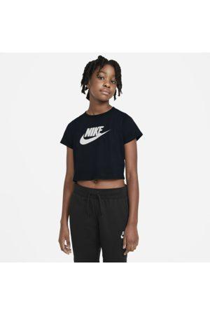 Nike Piger Træning t-shirts - Sportswear Cropped-T-shirt til store børn (piger)