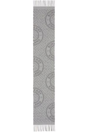 Burberry Tørklæder - Tørklæde i kashmir med TB-monogram
