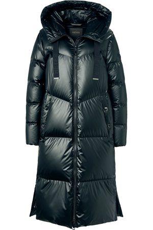 Heyer Kvinder Vinterjakker - Quiltet dunfrakke eksklusivt dunfyld Fra