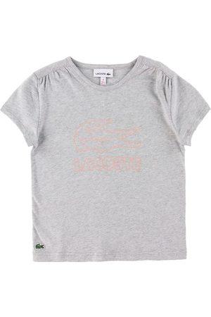 Lacoste Kortærmede - T-shirt - Silver Chine