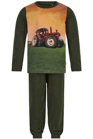 Minymo Pyjamas - Nattøj - Forest Night m. Traktor