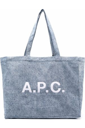 A.P.C. Stor tote med logotryk