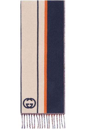 Gucci Interlocking G striped scarf