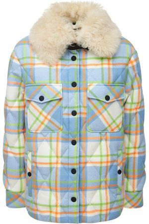 Moncler Curienne Quilted Wool Jacket