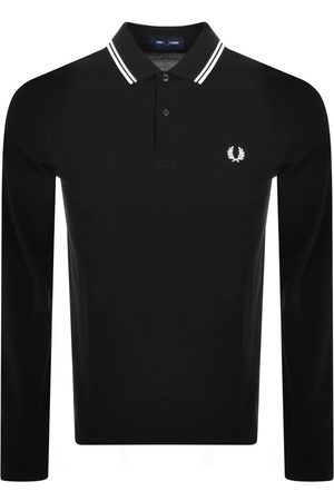 Fred Perry Mænd Langærmede - Twin Tipped Long Sleeved Polo