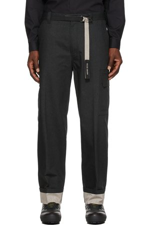CRAIG GREEN Grey Belted Cargo Pants