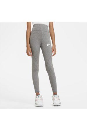 Nike Piger Træningstights - Sportswear Favorites-leggings med høj talje til store børn (piger)