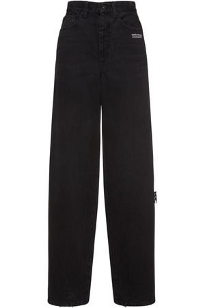 OFF-WHITE Baggy Straight Jeans