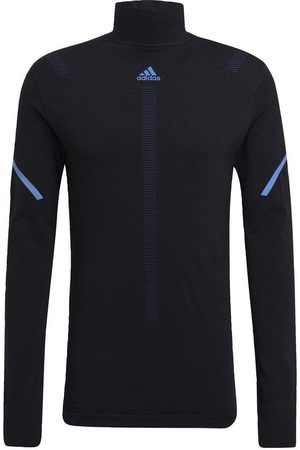 adidas Mænd Sweatshirts - Primeknit Running Mid-Layer trøje