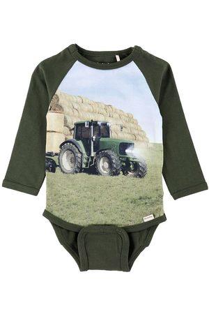 Minymo Sparkedragter - Body l/æ - Forest Night m. Traktor