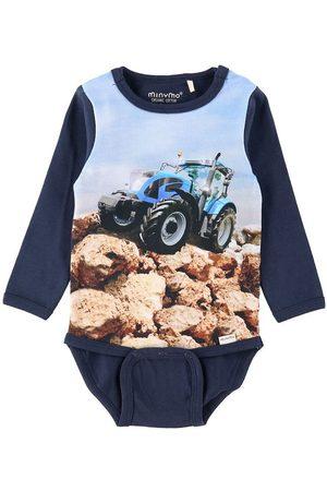 Minymo Body l/æ - Navy Night m. Traktor