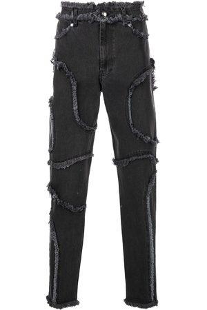 ECKHAUS LATTA Skinny - Cropped jeans med syningsdetalje
