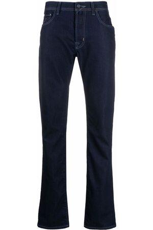 Jacob Cohen Mænd Slim - Dark wash slim-fit jeans