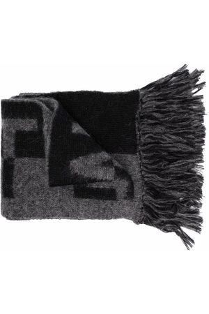 Saint Laurent Logo-print scarf