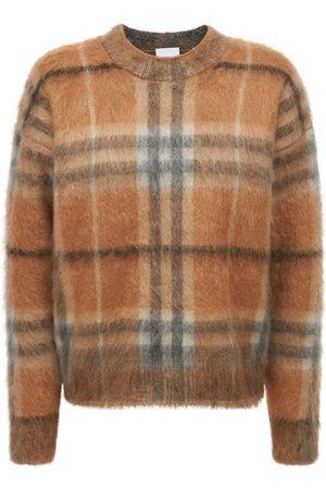 Burberry Kvinder Strik - Naima Mohair Blend Knit Sweater