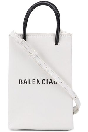 Balenciaga Shopping-taske til mobilen med rem