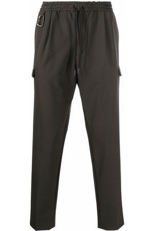 BRIGLIA Elasticated-waist trousers