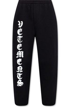 Vetements Logo-printed sweatpants