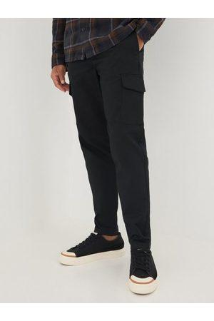 SELECTED Slhslimtapered-Gainford Cargo Pants Bukser Black