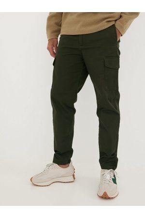 SELECTED Slhslimtapered-Gainford Cargo Pants Bukser Forest Night