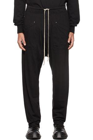 Rick Owens Mænd Cargo bukser - Black Long Cargo Pants