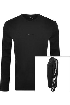 HUGO BOSS Mænd Langærmede - BOSS Long Sleeved TWrapped T Shirt