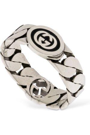 Gucci Kvinder Ringe - Wide Interlocking G Ring