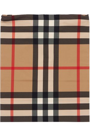 Burberry Check Printed Jersey Snood