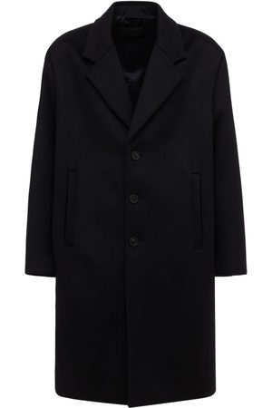 Prada Wool & Cashmere Single Breast Coat
