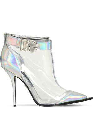 Dolce & Gabbana 105mm Cardinale Iridescent Ankle Boots