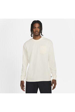 Nike Sportswear Premium Essentials-T-shirt med lange ærmer og lomme til mænd