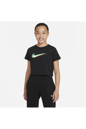 Nike Piger Træning t-shirts - Sportswear Cropped Dance-T-shirt til større børn (piger)