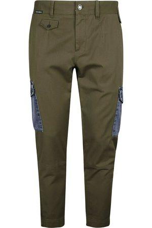 Dolce & Gabbana Mænd Cargo bukser - Denim-pocket Straight Trousers