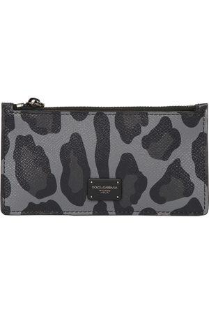 Dolce & Gabbana Leopard print card holder
