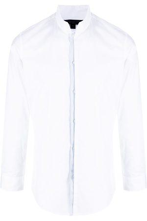 SHANGHAI TANG Mænd Langærmede skjorter - Skjorte med kinakrave