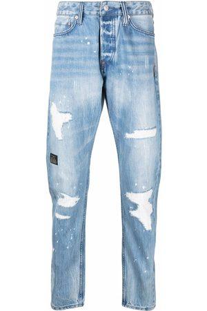 Evisu Mænd Slim - Slim-fit ripped jeans