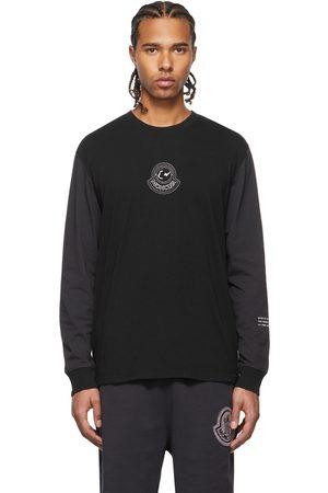 Moncler Genius 7 Moncler FRGMT Hiroshi Fujiwara Black Long Sleeve T-Shirt