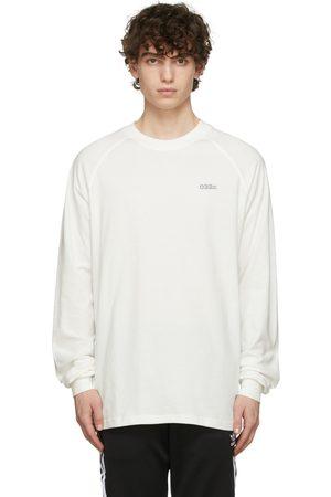032c Mænd Langærmede - White Backstage Long Sleeve T-Shirt
