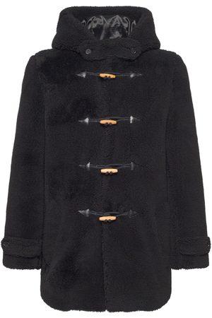 Saint Laurent Mænd Fleecejakker - Hooded Wool Fleece & Silk Jacket