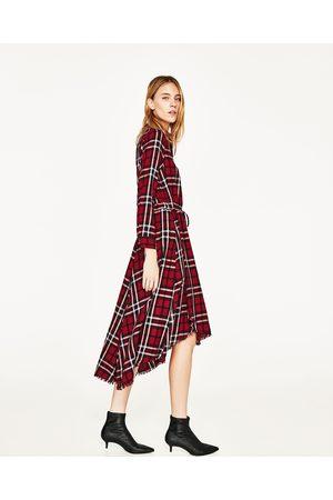 Kvinder Asymmetriske kjoler - Zara HALVLANG, ASYMMETRISK KJOLE