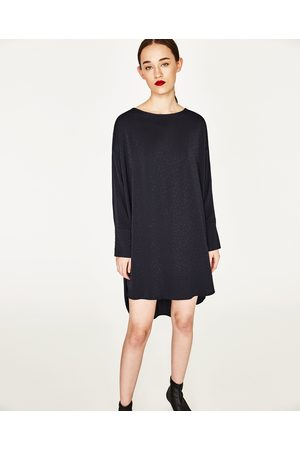 Kvinder Tunika kjoler - Zara TUNIKA MED KNAPPEDE MANCHETTER